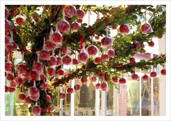 Uma árvore de maçãs do amor Foto: Eventando by NiNaVila