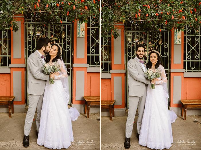Casamento delicado e intimista no Espaço Quintal