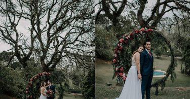 Casamento na Casa Ventura autêntico e cheio de amor