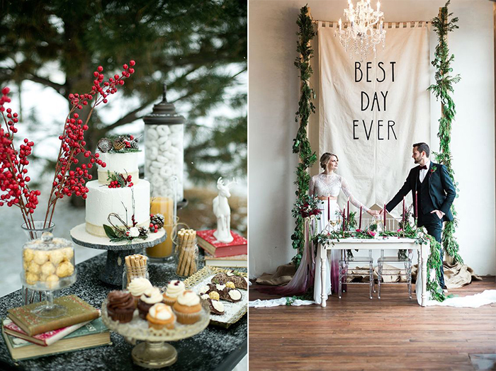 Casamento no Natal: dicas para se casar na época mais iluminada do ano!
