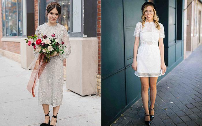 Vestido de noiva curto: todas as dicas para escolher o seu!
