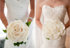 Bouquet de noiva de uma só flor ~ Bel Ornelas