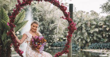 Casamento rústico natural no Sítio Meio do Mato   Lápis de Noiva