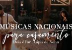 Músicas nacionais para casamento: playlist completa pra cerimônia