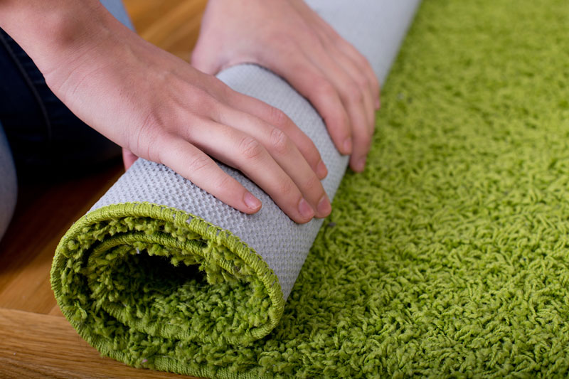tapete verde casamento