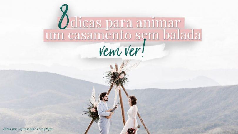 animar um casamento
