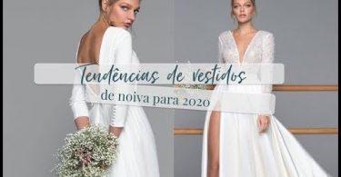 vestidos de noiva para 2020
