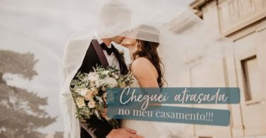 atrasada no casamento