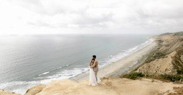 Romântico elopement com cerimônia ao ar livre em San Diego   Beatriz & Gabriel