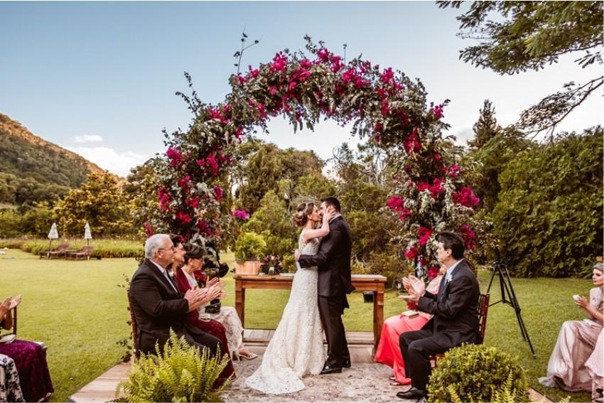 mini wedding em casa de campo