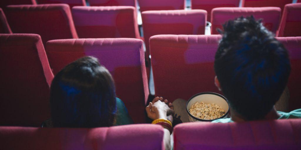 texto para pedir em namoro no cinema