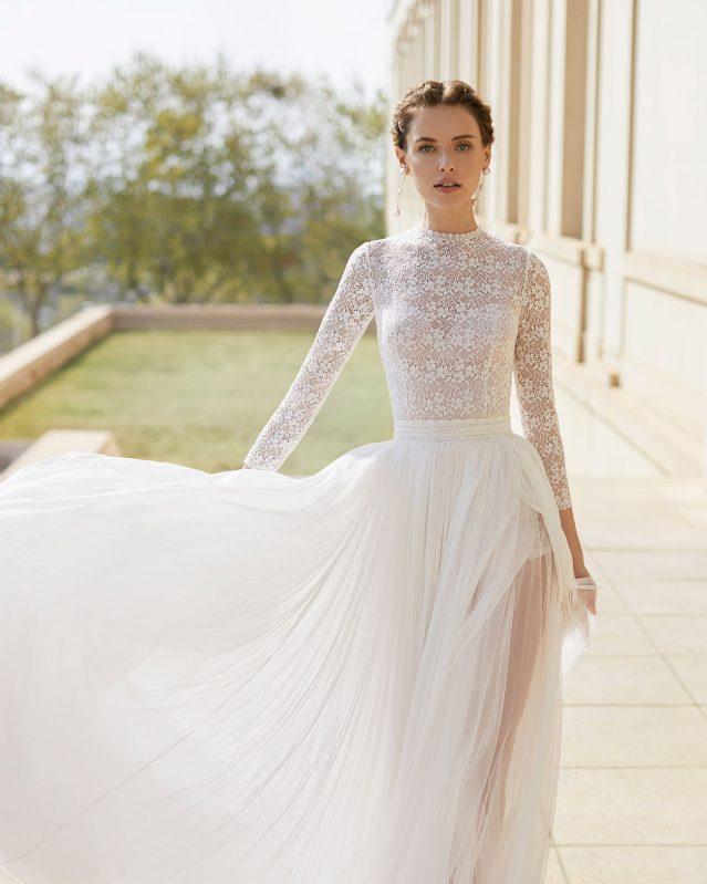 modelo de vestido de noiva 2020 branco