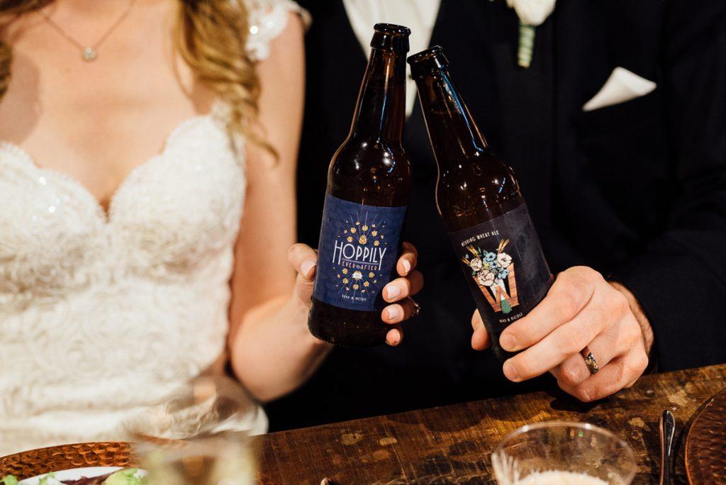 bebidas no casamento cervejas