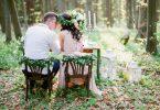 foto de casamento sustentável
