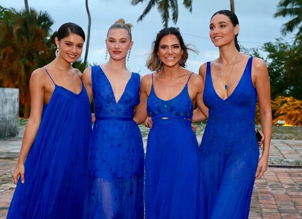 madrinhas do vestido de noiva Thaila Ayala