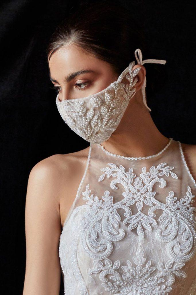 dicas de modelos de noiva de máscara