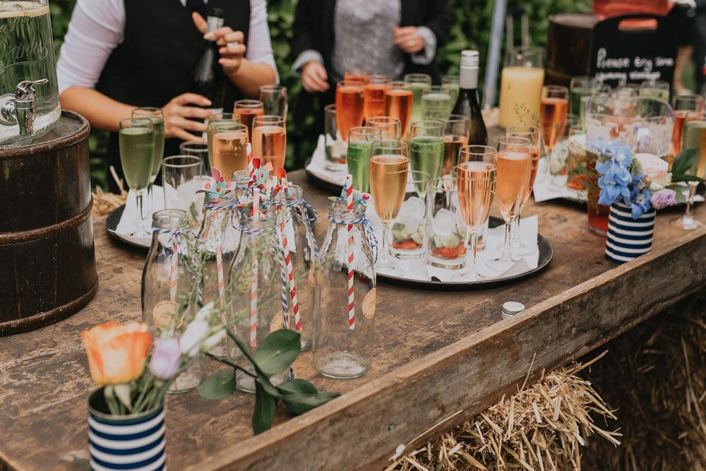 tipos de bebidas no casamento