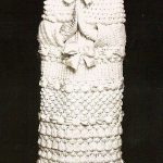 vestido de noiva diferente de crochê branco