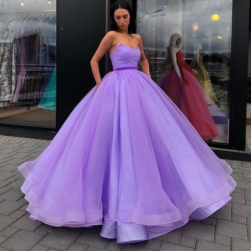 vestido de noiva roxo princess