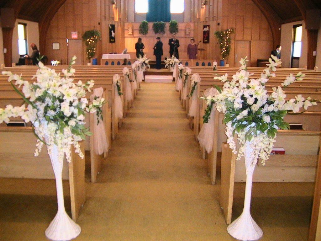 passo a passo do decoração do caminho até o altar