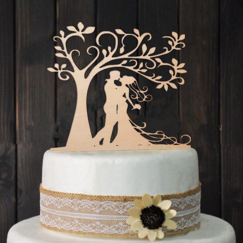 topper de bolo casamento mdf