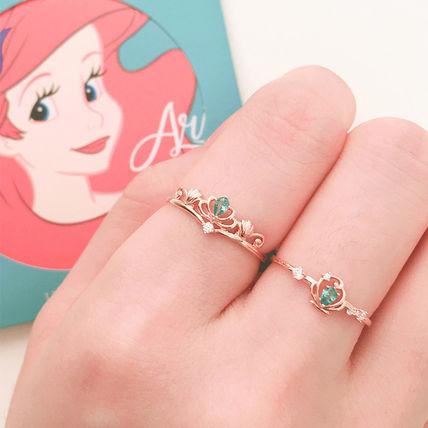 anel de noivado da Disney da ariel