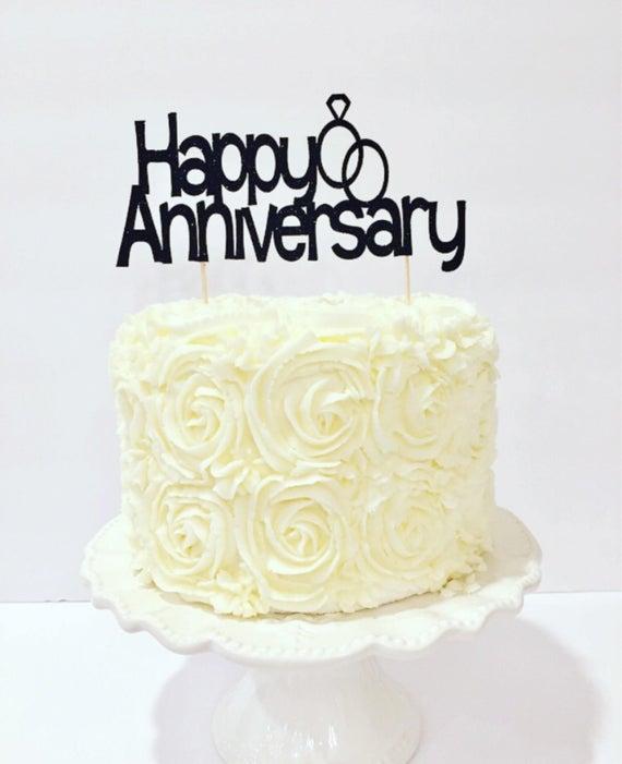 bolo de aniversário de casamento com ganache