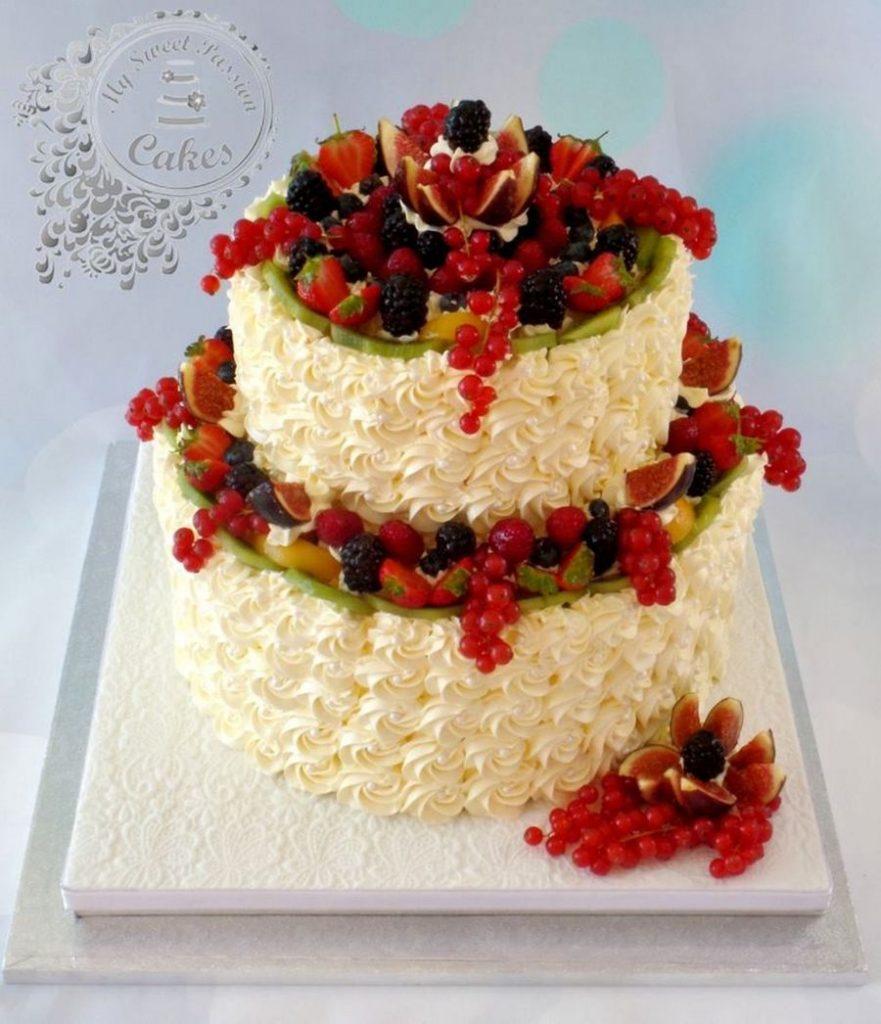 bolo de casamento com amora
