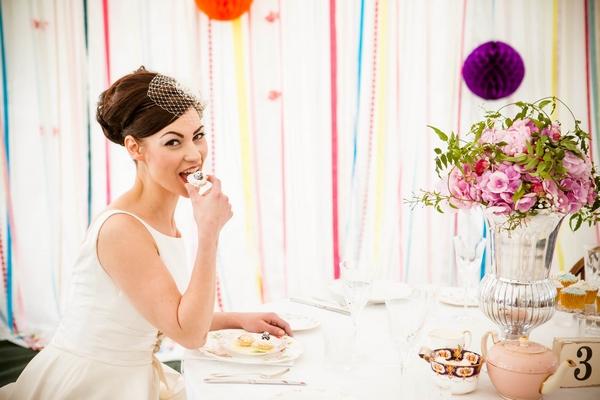 alimentação dos noivos