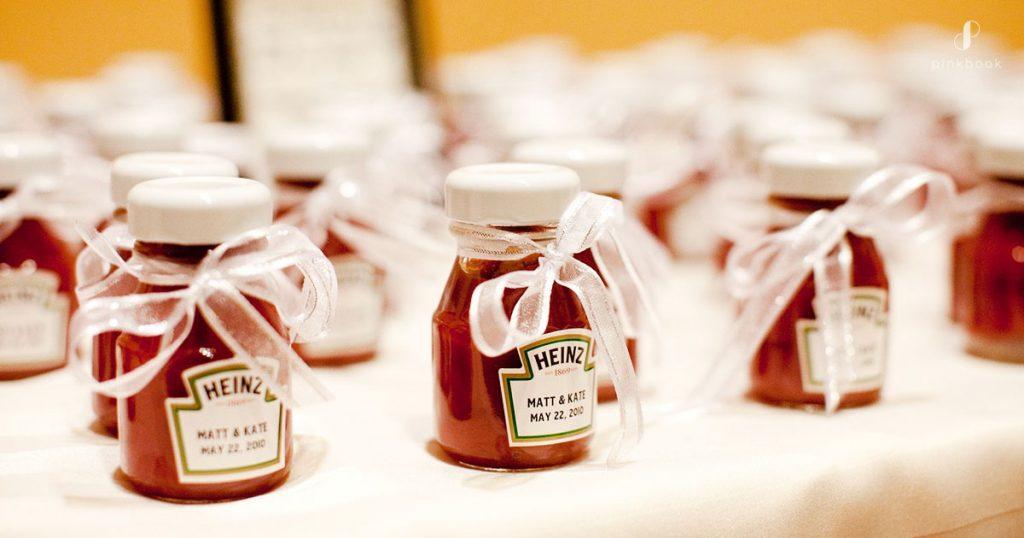 lembrancinhas de casamento criativas ketchup