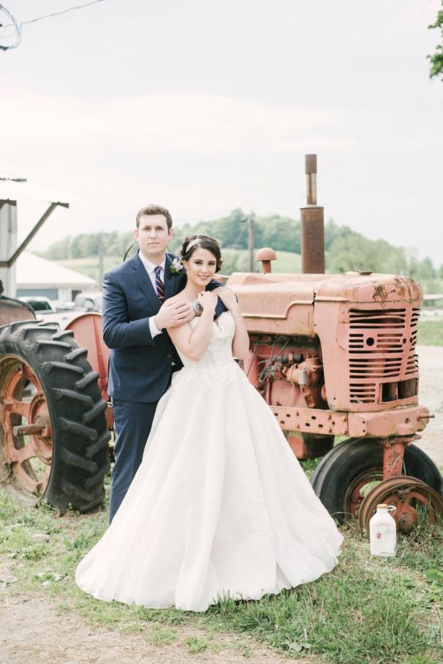 vestido de noiva princesa para o campo