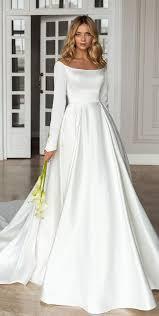 vestido de noiva moderno com minimalismo