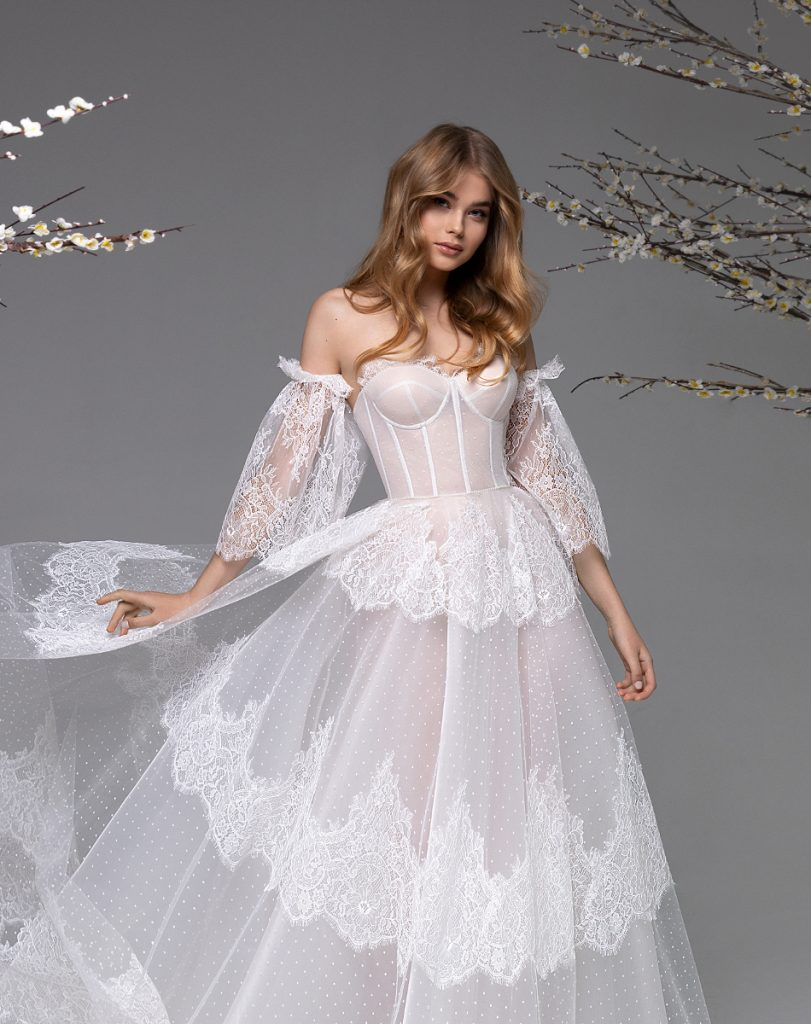 vestido de noiva moderno vintage